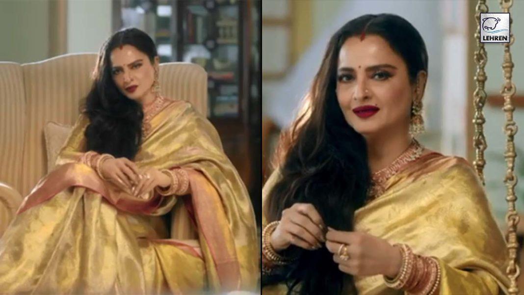 Actress Rekha To Debut TV Serial