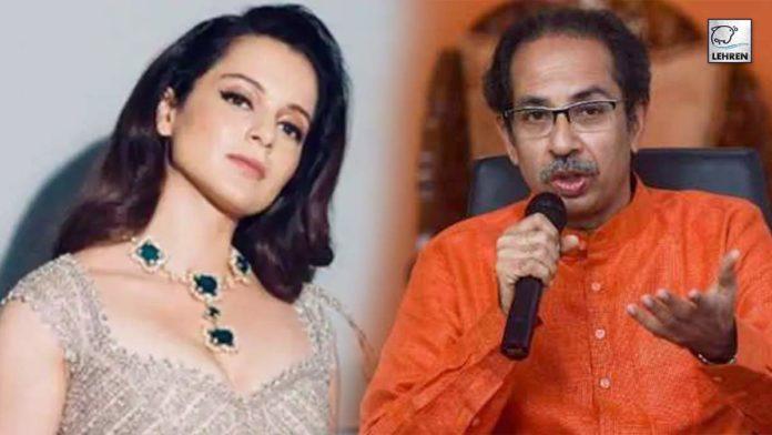 Kangana Ranaut Reaction Uddhav Thackerays Comment