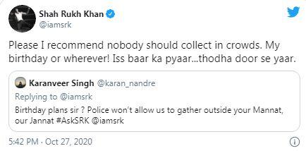 Shahrukh Khan Birthday
