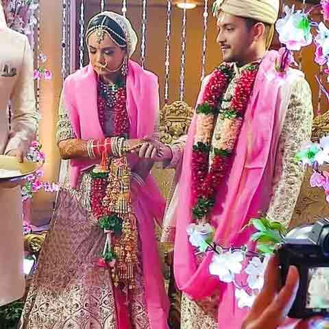 Aditya Narayan Marriage Photos