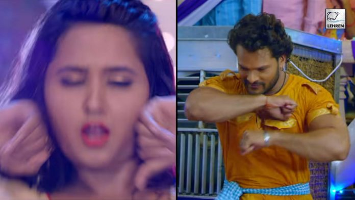 Khesari Lal-Kajal Raghwani Hit Song 'Cooler Kurti Me Laga La'