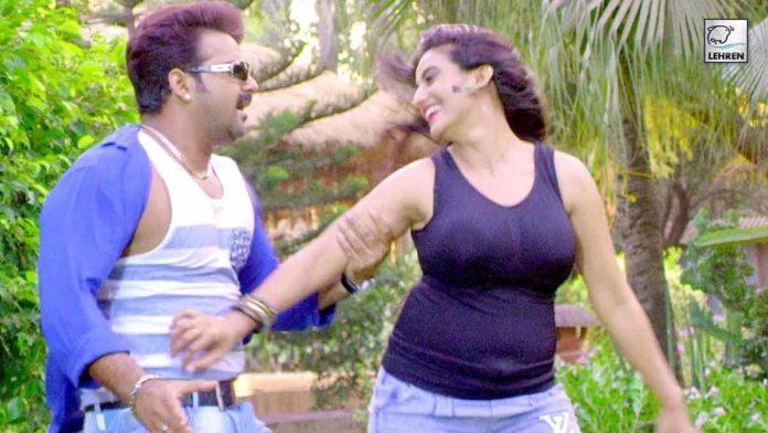 Pawan singh and Akshara Singh Hot Video Song Dolha Patti
