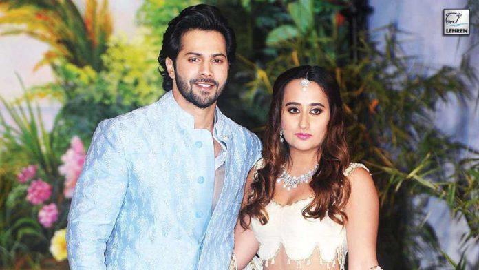 Varun Dhawan and Natasa Dalal Marriage