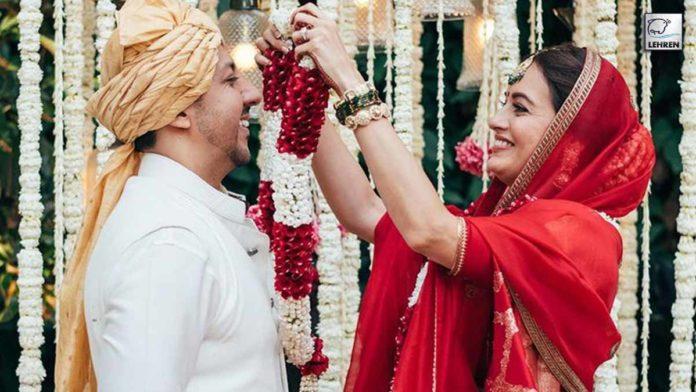 Dia Mirza Marriage Photos: