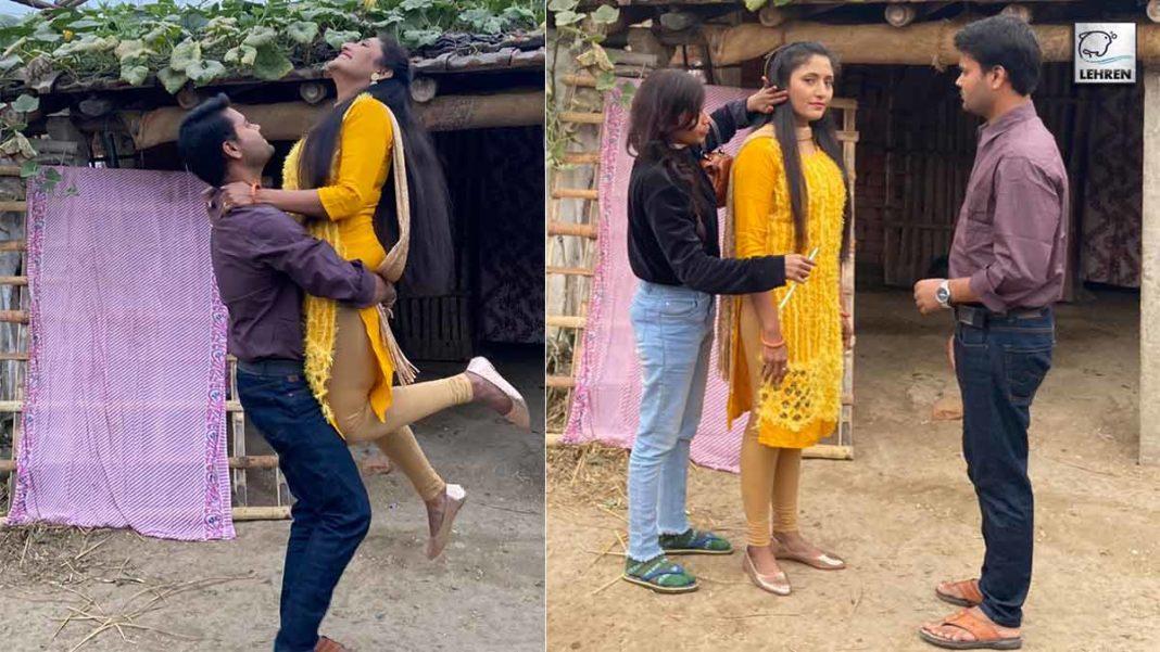 New Bhojpuri Film Parwah Smiti Sinha and Satyam Mishra is in lead role