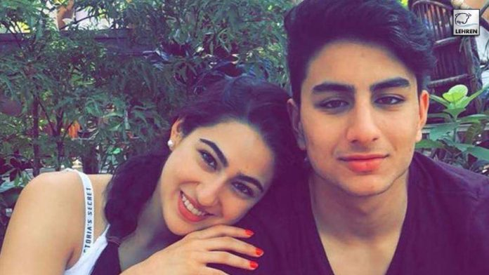 Ibrahim Ali Khan Birthday Sara Ali Khan Share cute pictures with brother