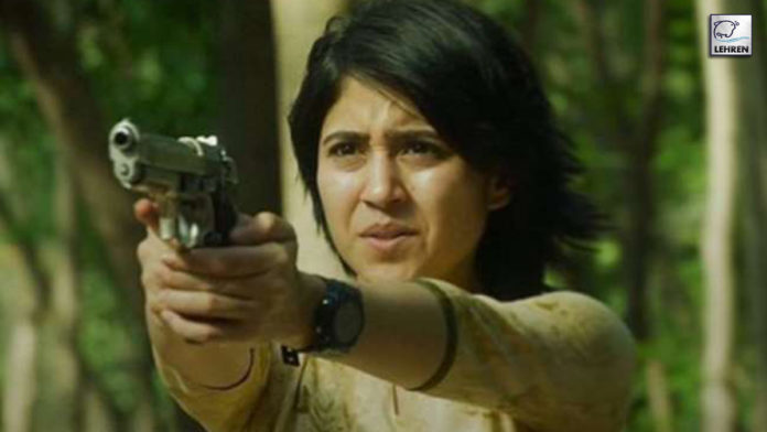 Shweta Tripathi Shooting in Varanasi New Web Series Escaype Live