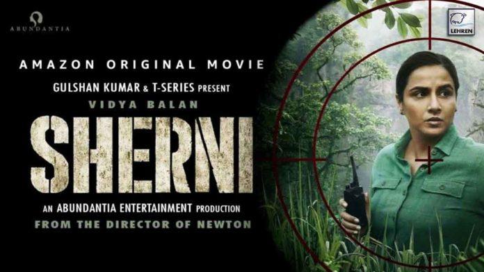 Vidya Balan starrer film Sherni Teaser