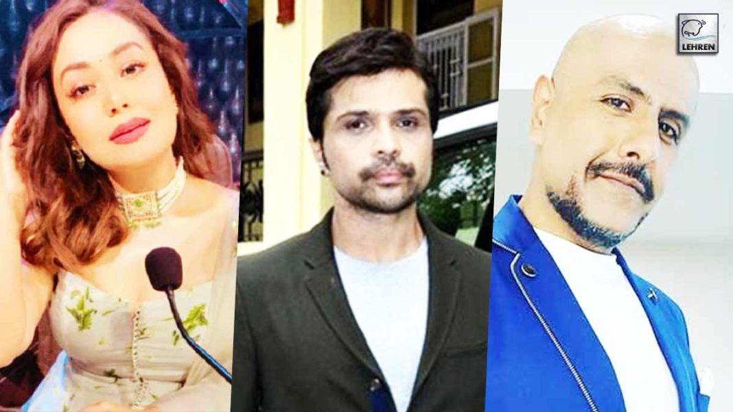 Neha Kakkar, Himesh Reshammiya and Vishal Dadlani shares post on instagram