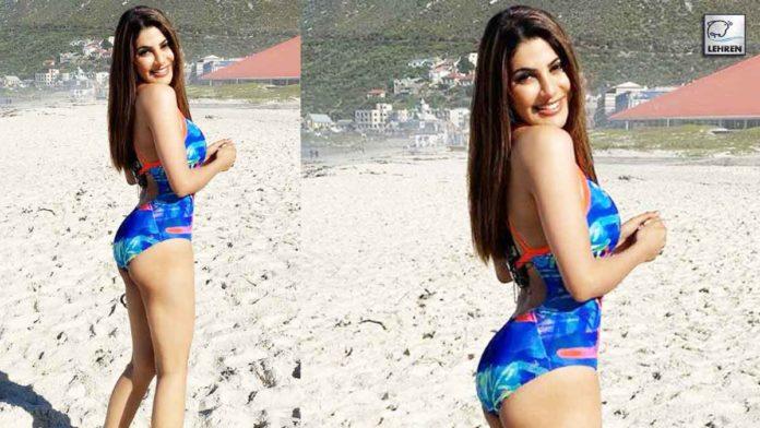 Nikki Tamboli Shares Swimsuit images