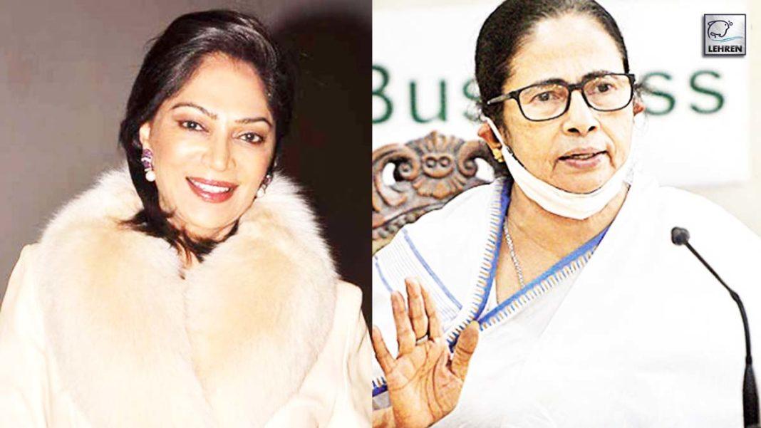 Simi Garewal compared Mamata Banerjee to US President joe biden
