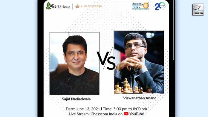 Sajid Nadiadwala will play chess with Viswanathan Anand