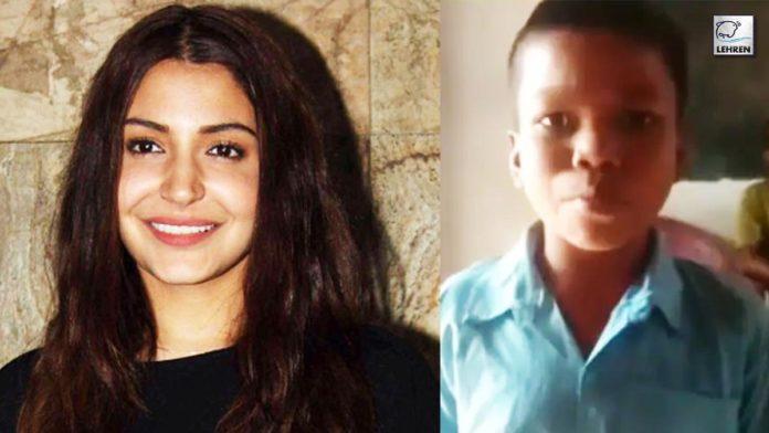 Anushka Sharma can't get over Sahdev Dirdo's 'Bachpan Ka Pyaar' viral video