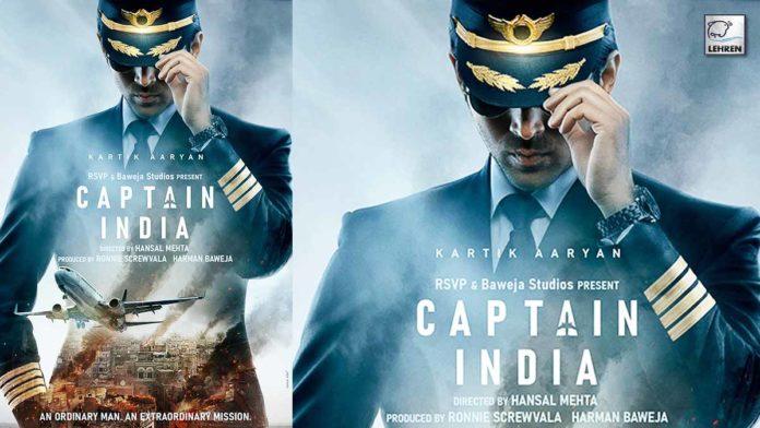 Kartik Aaryan's Captain India first look
