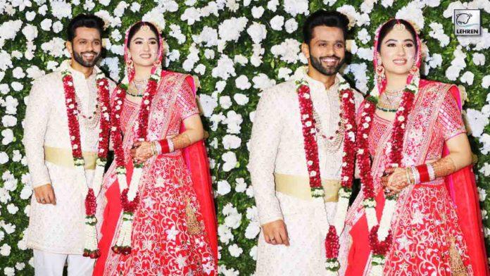 Rahul Vaidya-Disha Parmar Marriage