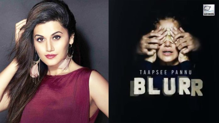 Taapsee Pannu Outsiders Films Zee Studios and Echelon Productions announce their film