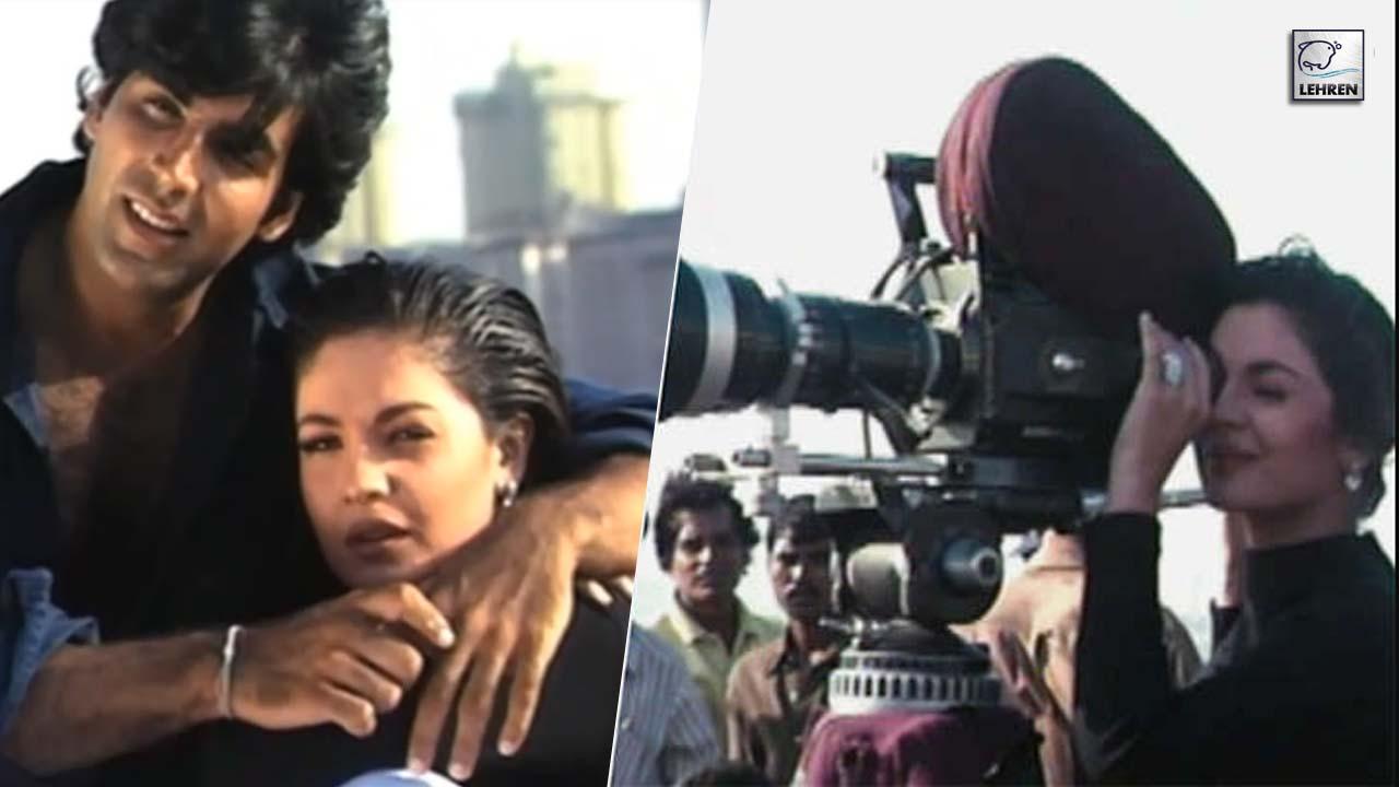 Akshay Kumar, Pooja Bhatt, Mahesh Bhatt On The Sets Of Angaaray