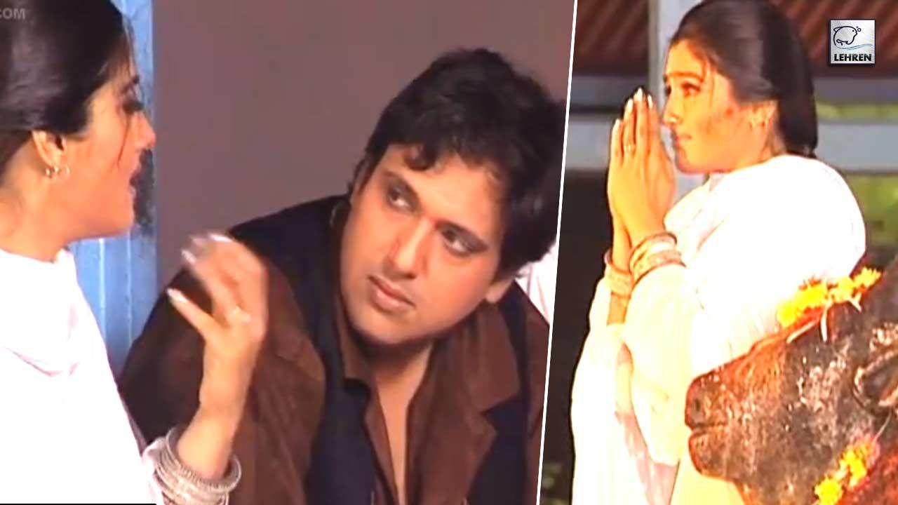 On The Sets Of 'Pardesi Babu' Featuring Govinda, Raveena Tandon