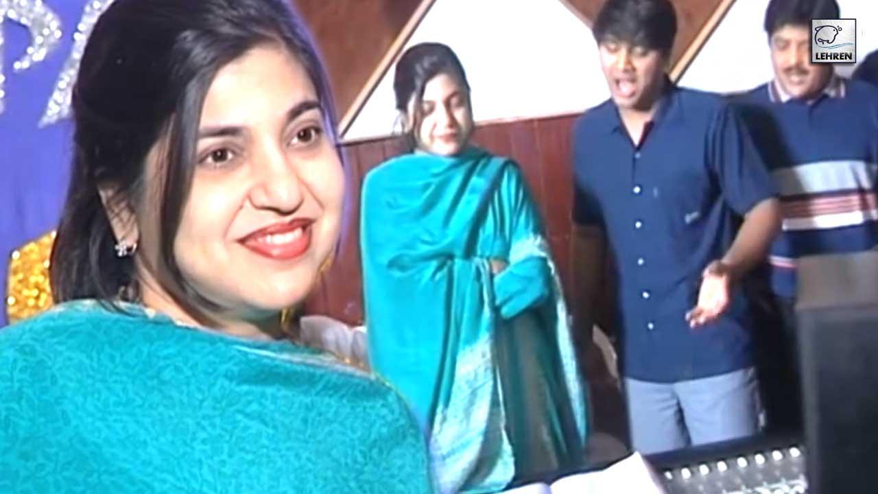 Playback Singer Alka Yagnik's Exclusive Interview For Film Parwana