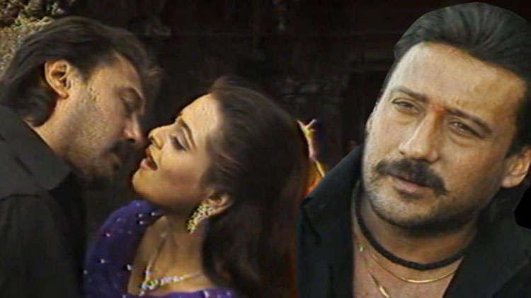 Jackie Shroff, Shilpa Shirodkar On The Sets Of Badmaash