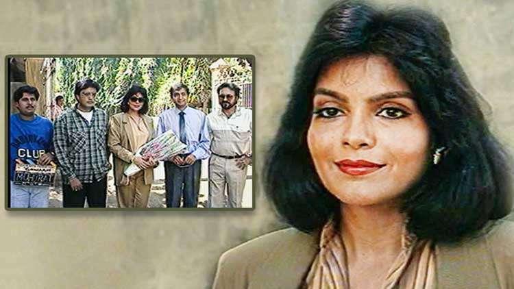 Zeenat Aman's Interview From The Sets Of Gawaahi