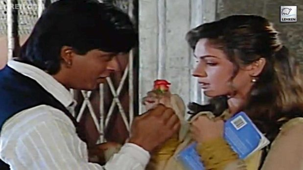 Shahrukh Khan On The Sets Of 'Chaahat' With Pooja Bhatt's Exclusive Interview