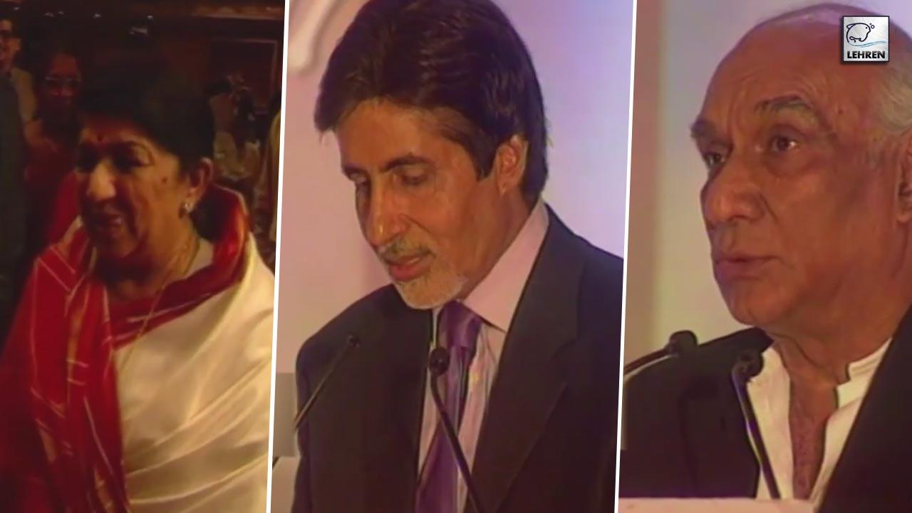 Exclusive Interviews Of Bharat Ratna Awardee Lata Mangeshkar, Amitabh Bachchan And Yash Chopra