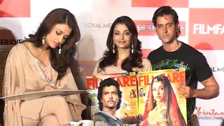 Hrithik Roshan, Aishwariya Rai At Filmfare Magazine Launch Event
