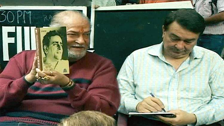 Shashi Kapoor, Shammi Kapoor With Family At Prithvi Theatre Year Book Launch Event