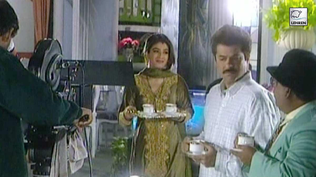 Making Of Gharwali Baharwali Featuring Anil Kapoor, Raveena Tandon