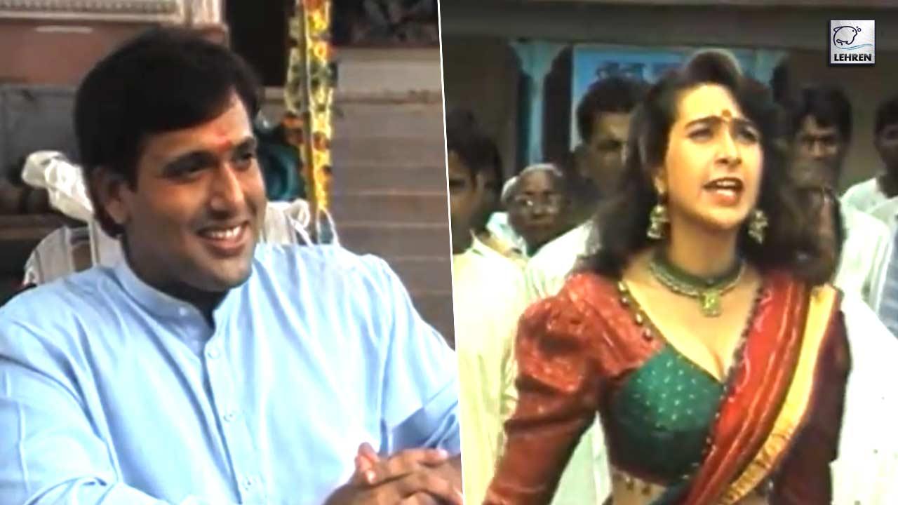 Exclusive Interviews Of Govinda, Karishma Kapoor On The Sets Of Raja Babu