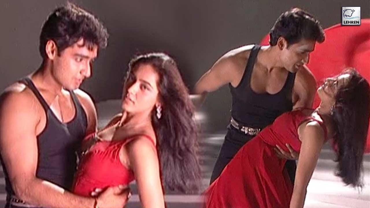 Saroj Khan Choreographs A Song Picturisation On Karan Nath And Jividha Sharma For The Film Yeh Dil Aashiqanaa