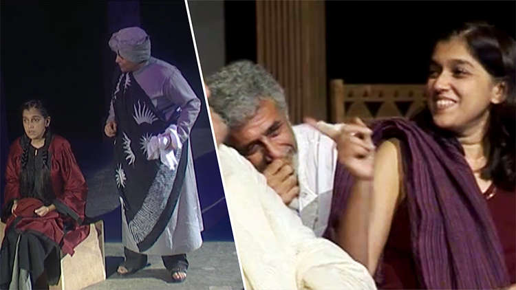 Ratna Pathak And Naseeruddin Shah's UNSEEN Play At Theatre