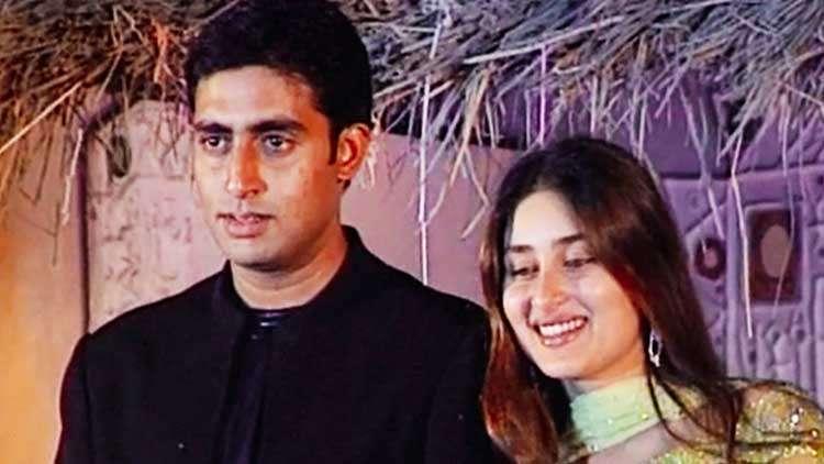 Kareena Kapoor And Abhishek Bachchan At The Music Launch Of Film Refugee