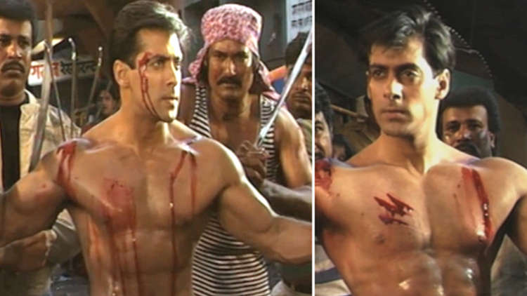 Salman Khan's Fight Scene From His Movie Veergati