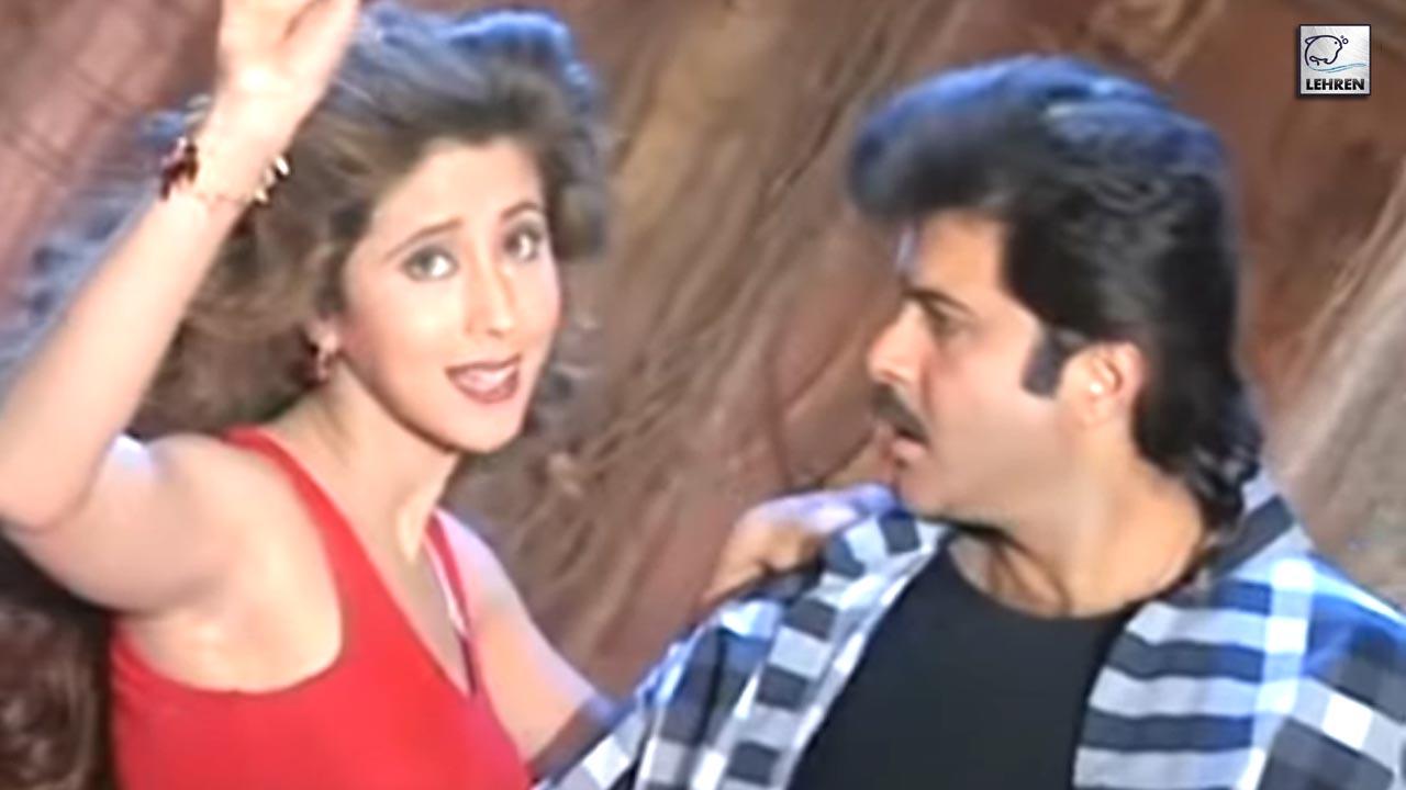 Anil Kapoor And Urmila Matondkar Choreographed By Saroj Khan For The Film Judaai