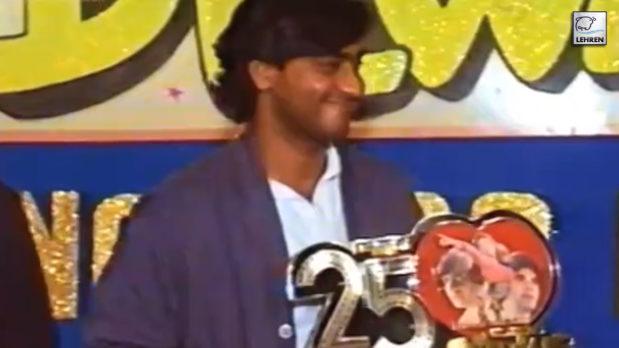 Silver Jubilee Celebration Of 'Dilwale' Featuring Ajay Devgn, Suniel Shetty, Raveena Tandon