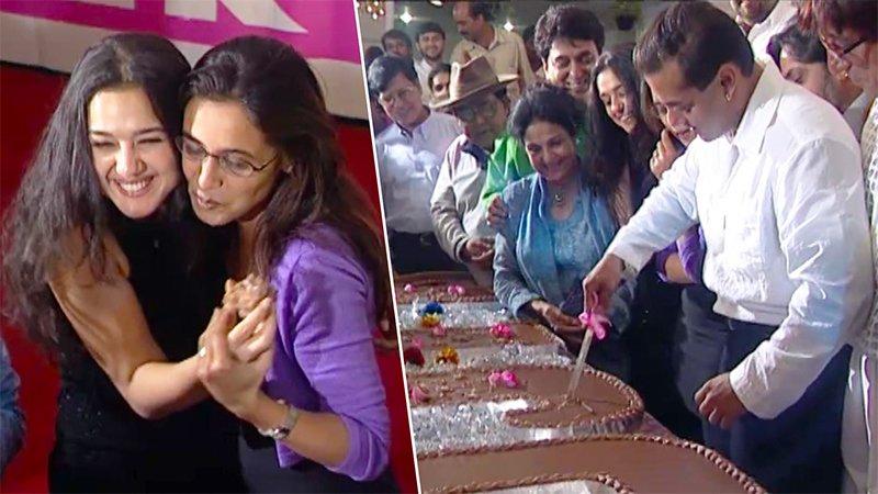 Salman Khan, Rani Mukherjee, Preity Zinta Celebrate The Success Of Their Film Har Dil Jo Pyaar Karega