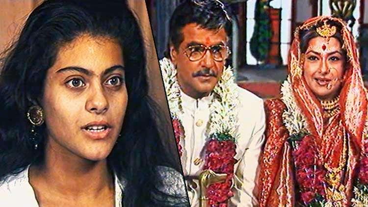 Kajol And Mehmood Chat Up With Lehren While Shooting For Udhaar Ki Zindagi