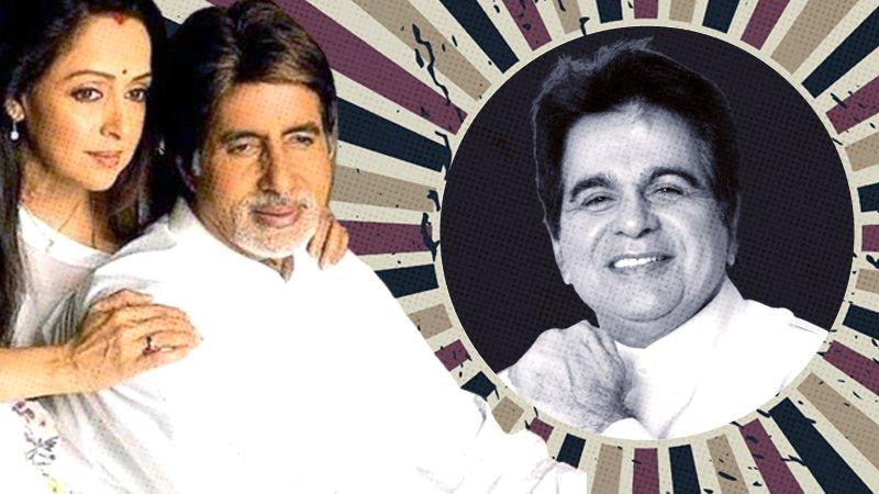 When Amitabh Bachchan Walked Into Dilip Kumar's Film