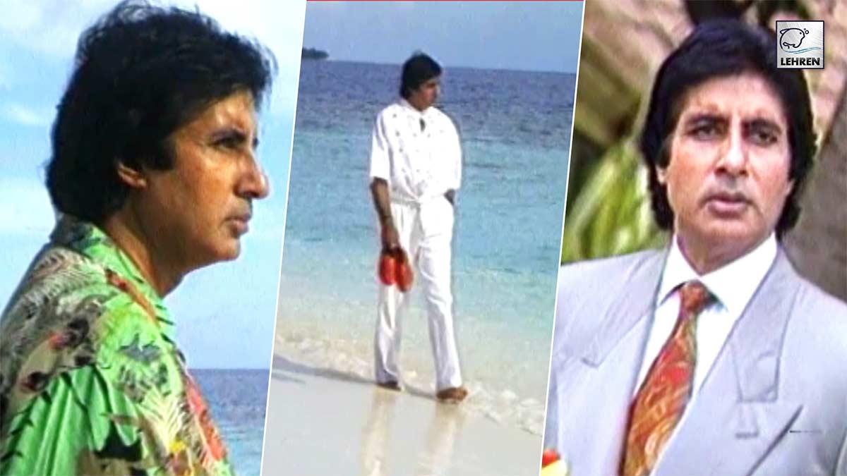 Exclusive Old Photoshoot Of Megastar Amitabh Bachchan