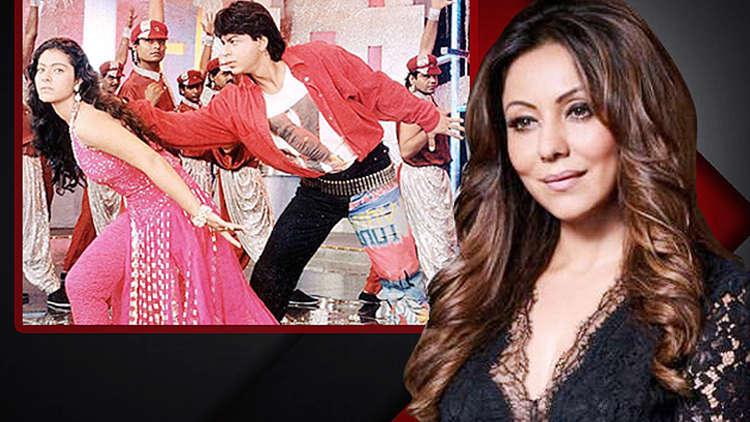 Did You Know Gauri Khan Designed Shah Rukh's Look In Baazigar's Song 'Ye Kaali Kaali Aankhen'?