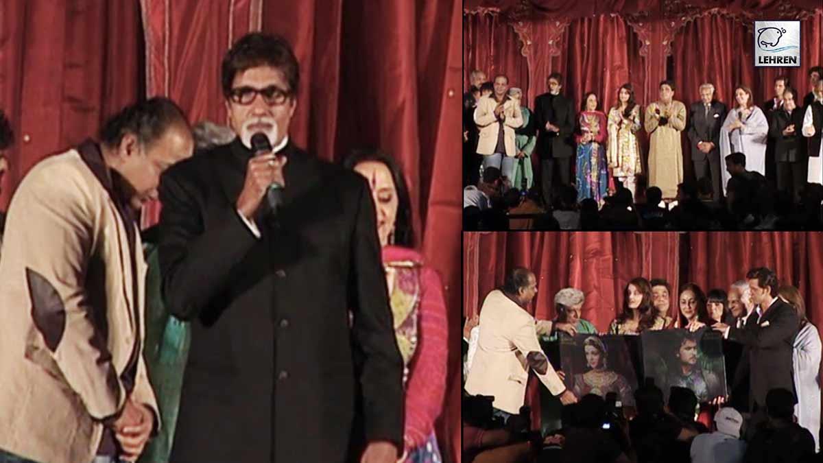 Grand Music Launch Of Hrithik Roshan, Aishwarya Rai's Jodhaa Akbar