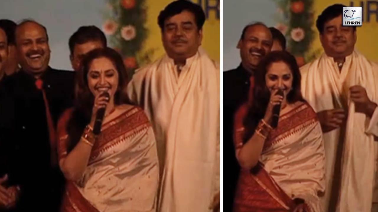 Muhurat Of Film 'Bharat Bhagya Vidhata' Starring Shatrughan Sinha And Jaya Prada