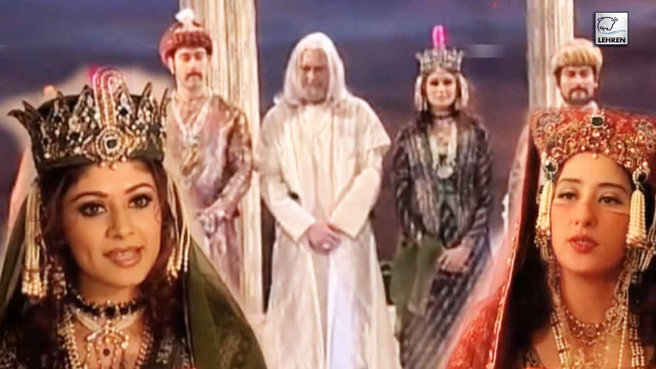 Muhurat Of Hindi Film 'Taj Mahal' Starring Kabir Bedi And Manisha Koirala