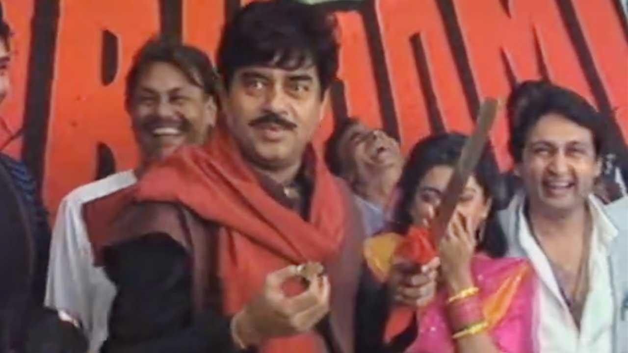Muhurat Of Ranbhoomi (1991) Featuring Jeetendra, Shatrughan Sinha