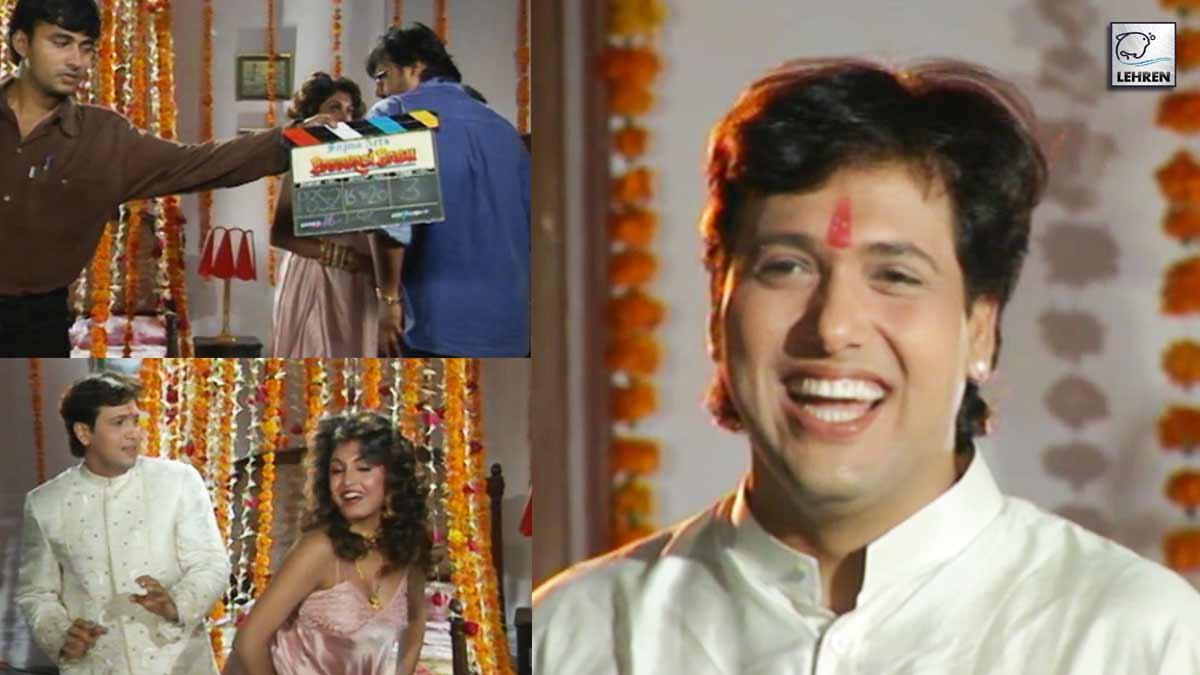 Throwback Video From The Sets Of 'Banarasi Babu' (1997) Starring Govinda