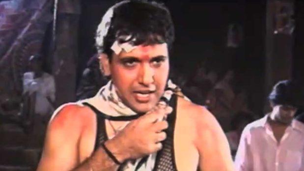 On The Sets Of 'Maahir' (1996) Featuring Govinda