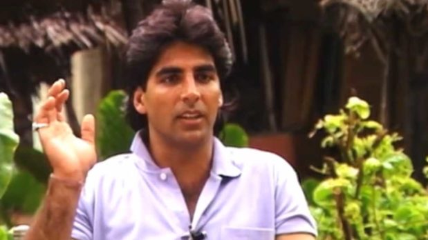 Akshay Kumar's Exclusive Interview OnThe Sets Of 'Suhaag' (1994)