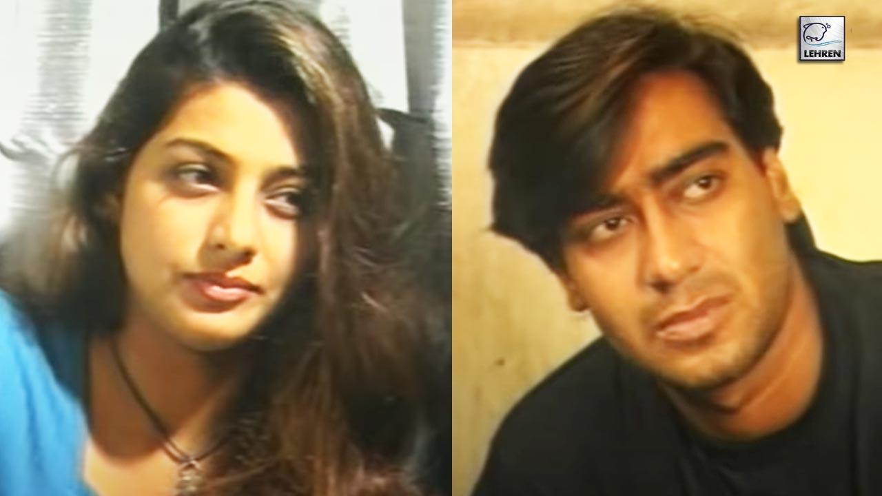 Tabu And Ajay Devgn's Rare Video From Their Movie Vijaypath